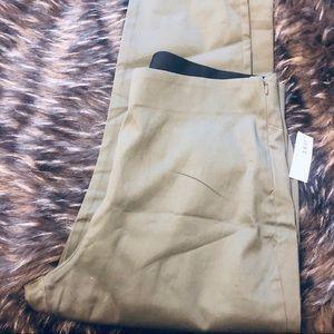 Camo green trousers